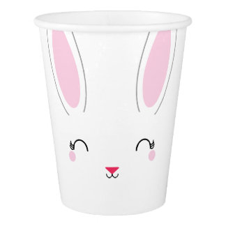 kawaii SPRING BUNNY birthday paper party cup Paper Cup