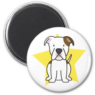 Kawaii Star American Bulldog Magnet