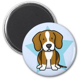 Kawaii Star Beagle Magnet