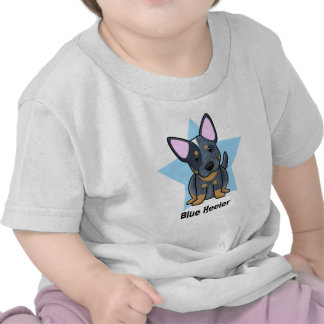Kawaii Star Blue Heeler Baby's Shirt