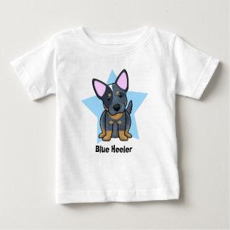 Kawaii Star Blue Heeler Baby's T Shirts