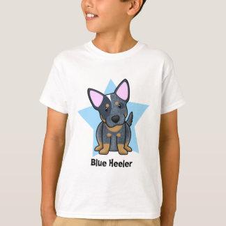 Kawaii Star Blue Heeler Child's T-Shirt