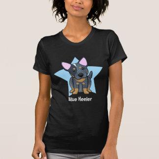 Kawaii Star Blue Heeler Women's Tee Shirts