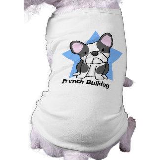 Kawaii Star BW French Bulldog Shirt