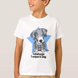 Kawaii Star Catahoula Leopard Dog Child's T-Shirt