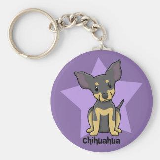 Kawaii Star Chihuahua - BT Keychain