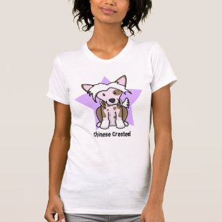 Kawaii Star Chinese Crested Women's T-Shirt