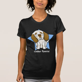 Kawaii Star Clumber Spaniel Ladies T-Shirt