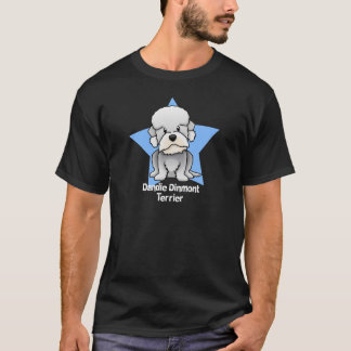 Kawaii Star Dandie Dinmont Terrier T-Shirt