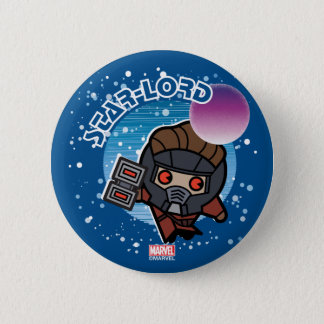 Kawaii Star-Lord In Space 2 Inch Round Button