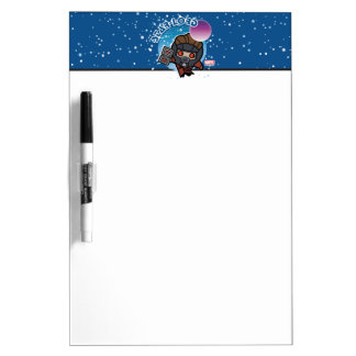 Kawaii Star-Lord In Space Dry Erase Board