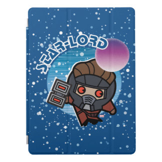 Kawaii Star-Lord In Space iPad Pro Cover