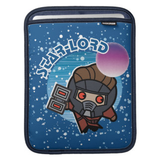 Kawaii Star-Lord In Space iPad Sleeve