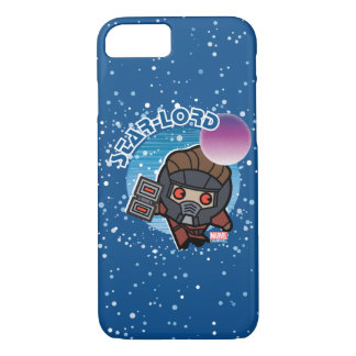 Kawaii Star-Lord In Space iPhone 8/7 Case