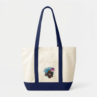 Kawaii Star-Lord In Space Tote Bag