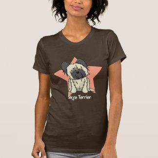 Kawaii Star Skye Terrier T-Shirt