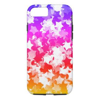 Kawaii Stars Neon Tropical Gyaru Girl iPhone 7 Case