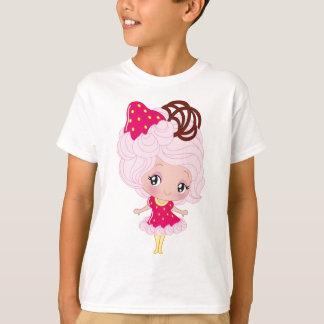 Kawaii Strawberry Delight Girl T-Shirt