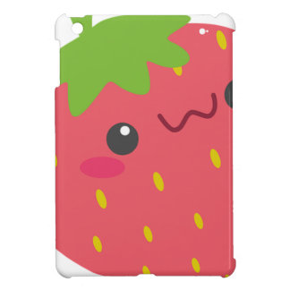 Kawaii Strawberry iPad Mini Cover