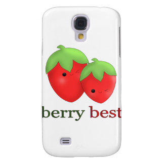 Kawaii Strawberry iPhone Case Samsung Galaxy S4 Covers