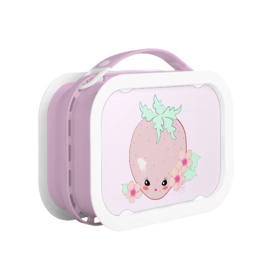 Kawaii Strawberry Lunchbox