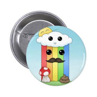 Kawaii Sunny Day & Poop Pins