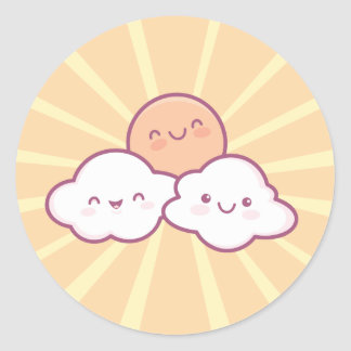Kawaii Sunshine Stickers