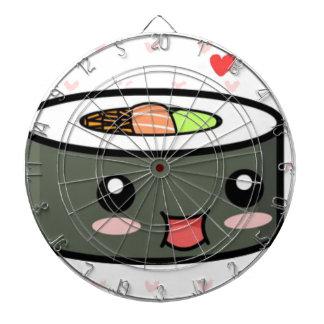 Kawaii Sushi Dartboard
