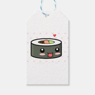 Kawaii Sushi Gift Tags
