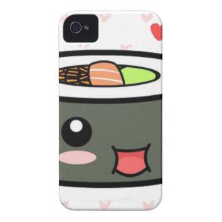Kawaii Sushi iPhone 4 Case-Mate Case