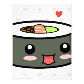 Kawaii Sushi Letterhead