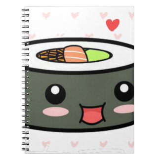 Kawaii Sushi Notebook