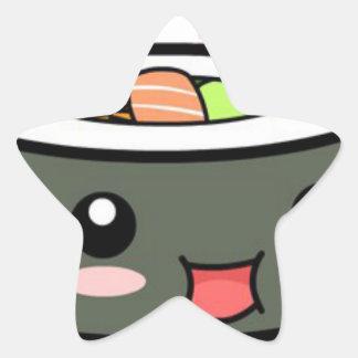 Kawaii Sushi Star Sticker