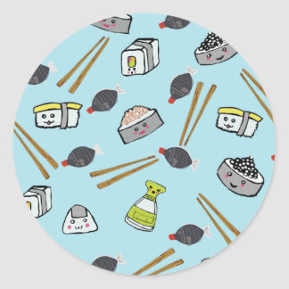 Kawaii Sushi Stickers