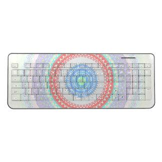 Kawaii Swirl Wireless Keyboard