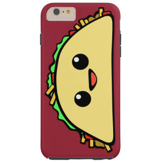 Kawaii Taco Character Tough iPhone 6 Plus Case