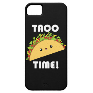 Kawaii Taco Time iPhone Case