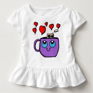 Kawaii Tea Cup and Tea Bag Toddler T-shirt