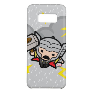 Kawaii Thor With Lightning Case-Mate Samsung Galaxy S8 Case