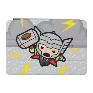 Kawaii Thor With Lightning iPad Mini Cover