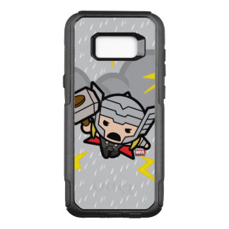Kawaii Thor With Lightning OtterBox Commuter Samsung Galaxy S8+ Case