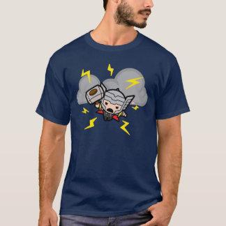 Kawaii Thor With Lightning T-Shirt