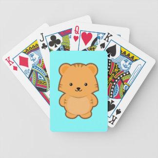Kawaii Tiger Poker Deck