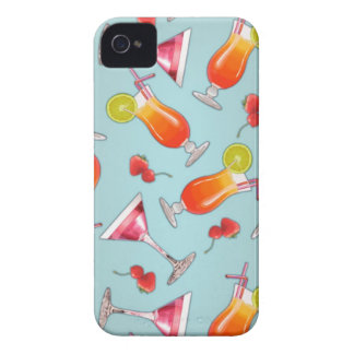 Kawaii tropical cocktail iPhone 4 Case-Mate case