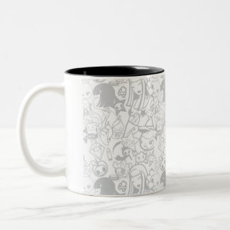 kawaii Two-Tone coffee mug