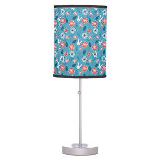 Kawaii Usagi Floral Pattern Table Lamp
