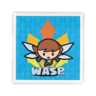 Kawaii Wasp Flying Acrylic Tray