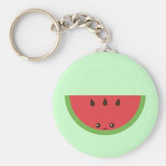Kawaii Watermelon Keychain