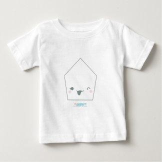 Kawaii White Pentagon Baby T-Shirt
