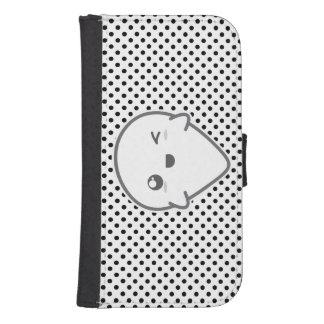 Kawaii Winking Ghost Samsung Wallet Case Galaxy S4 Wallets